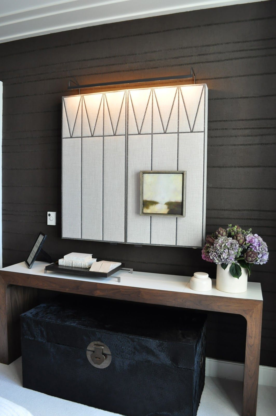 Hallway storage trunk  Pin by Camille Appleton on plus beaux restaurants  Pinterest  Nail