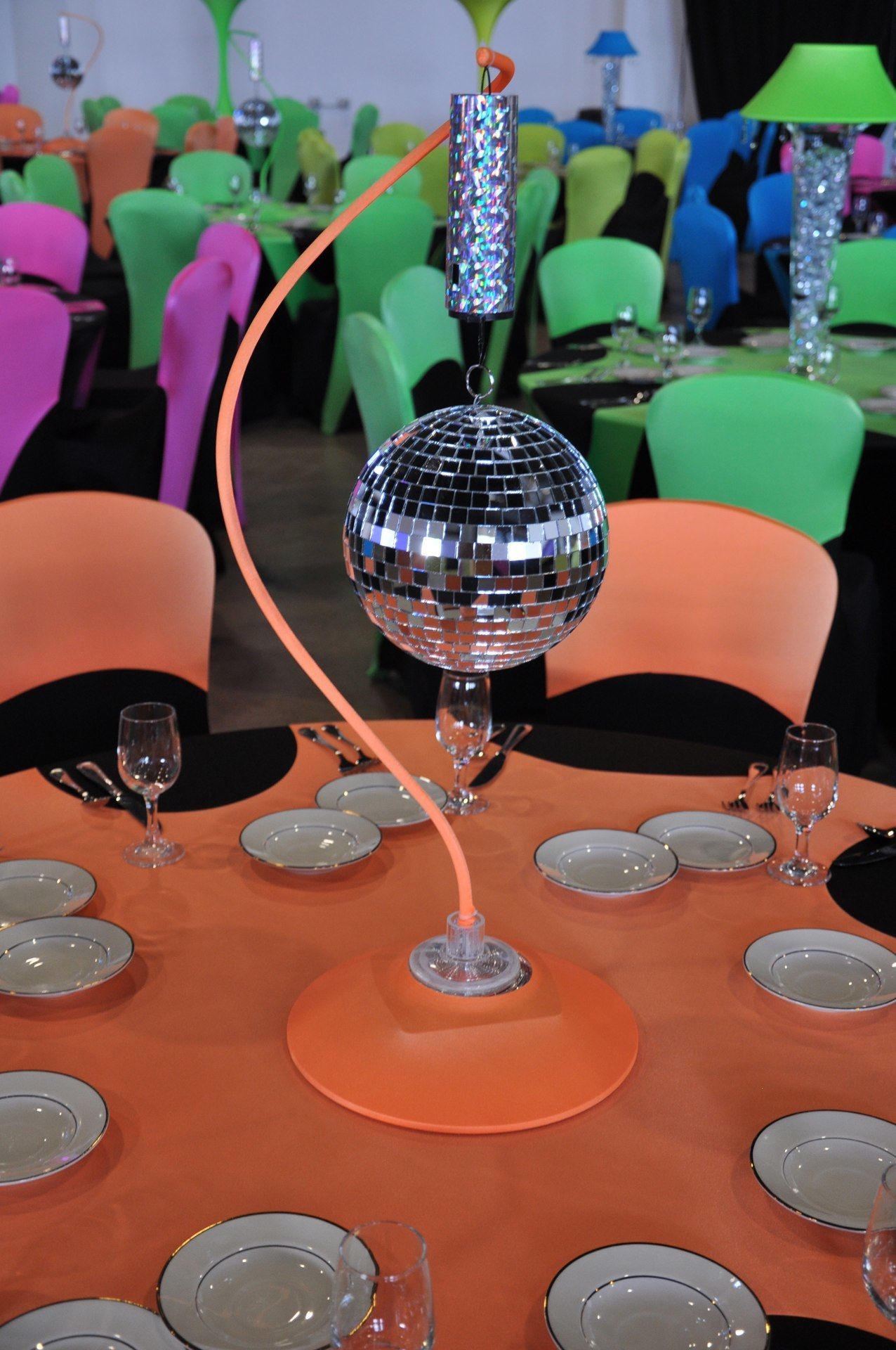 Rotating Lighted Mirror Ball Mom Party Mirror Ball Christmas Party