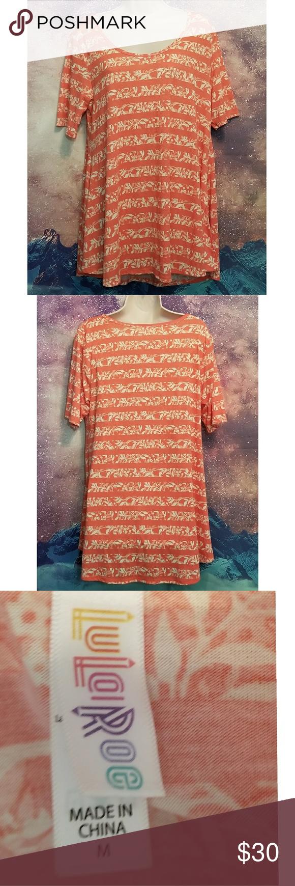 Lularoe Perfect T-shirt Excellent Condition Size Mediun LuLaRoe Tops Tees - Short Sleeve