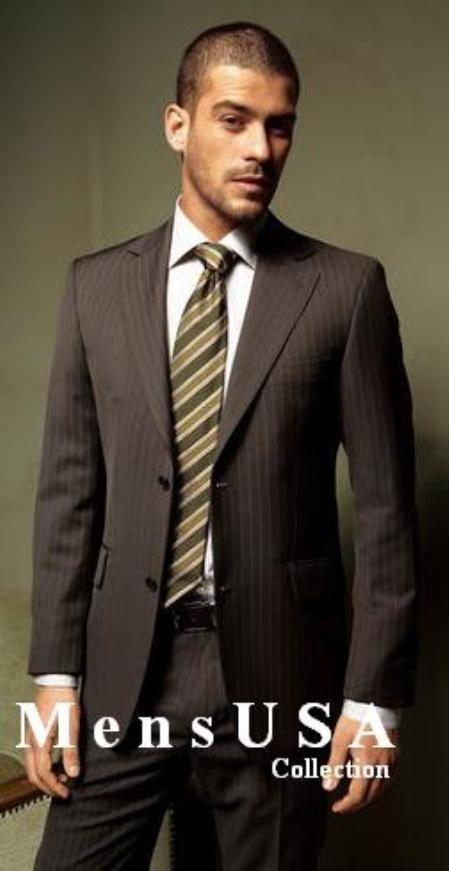 Brown Suit Tie Combinations Dress Yy