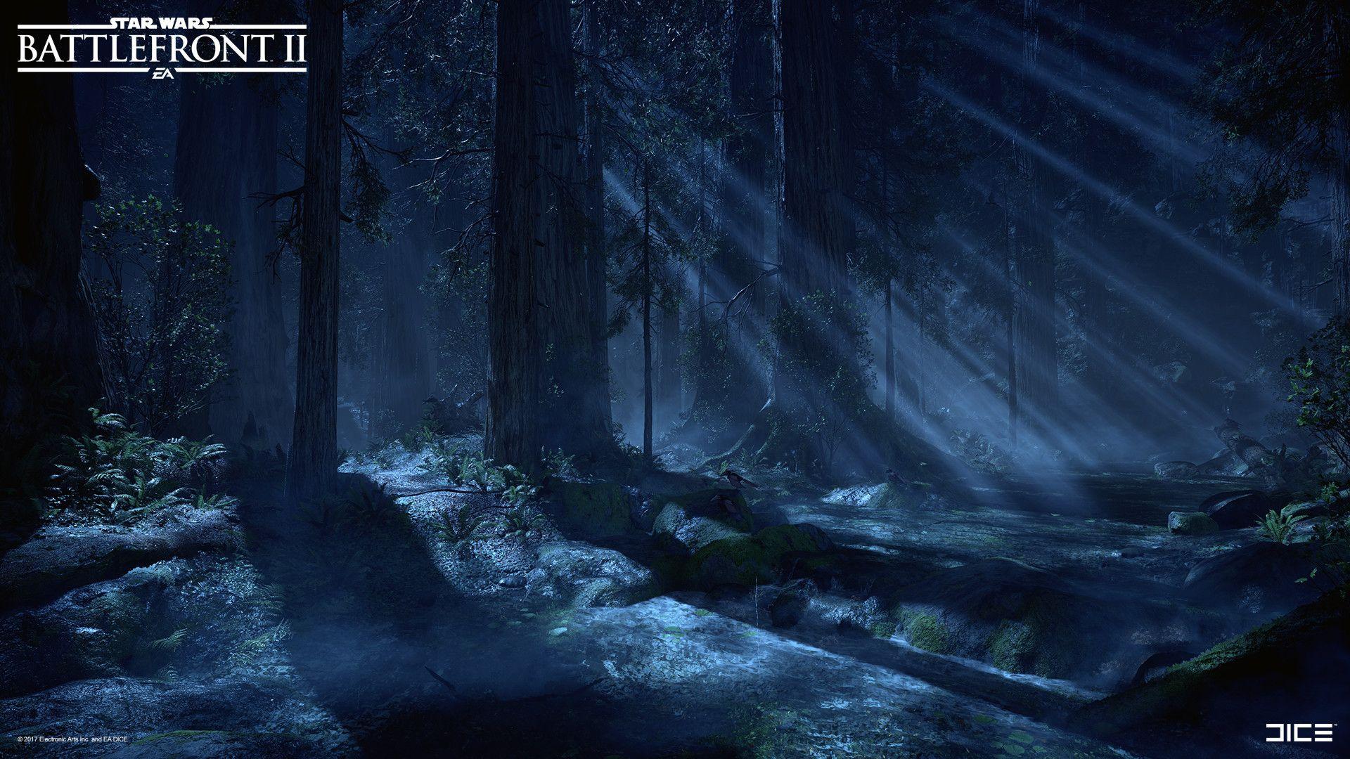 Artstation Star Wars Battlefront Ii Endor David Holland Star