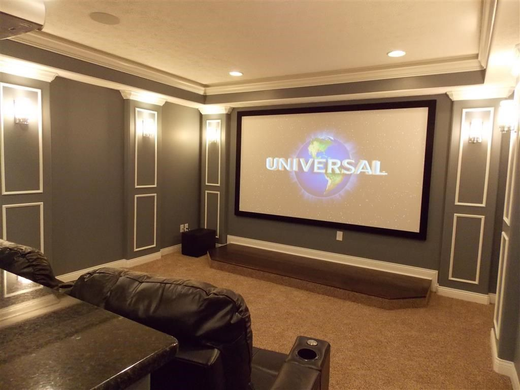 Movie Room Lighting Gallery Theater In 2019