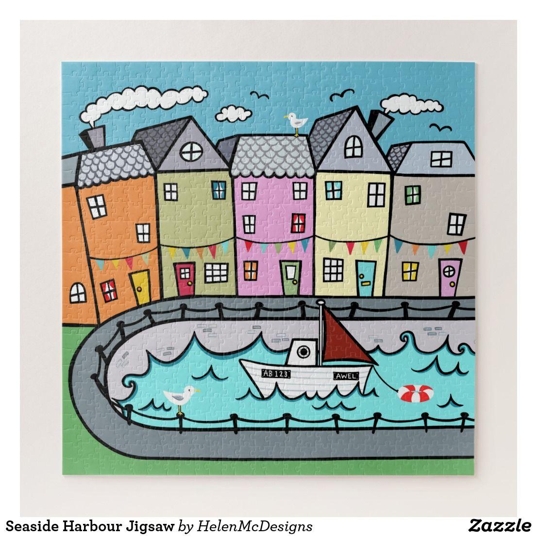 Seaside Harbour Jigsaw Jigsaw Puzzle