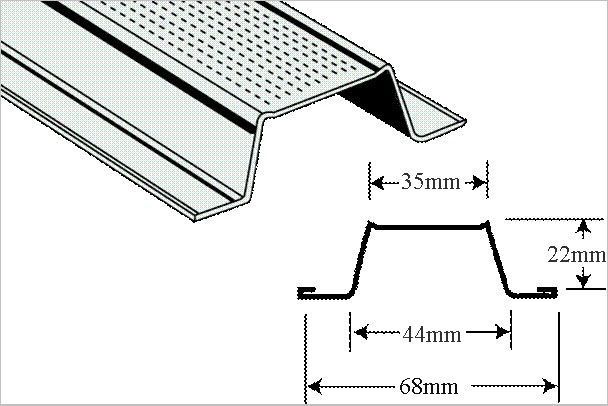 ceiling keel furring channel sizes    suspended ceiling metal hat channel