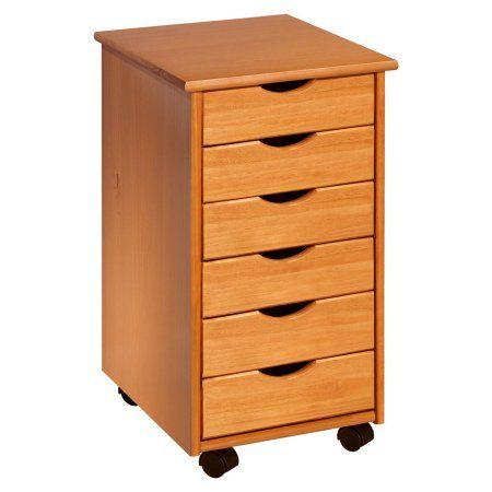 Adeptus Wood Rolling Craft Storage Drawers Walmart Com Sewing