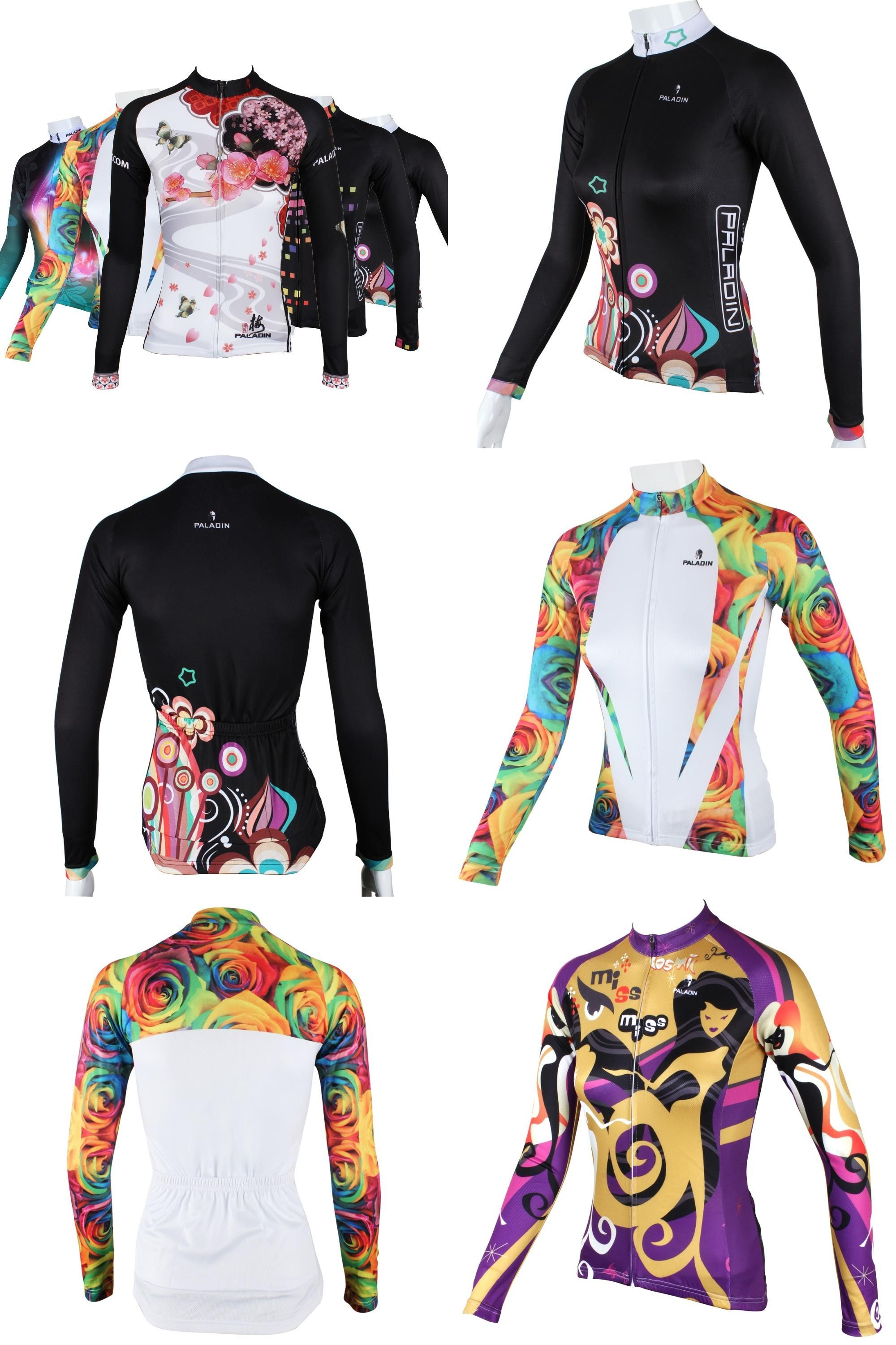 9c8c82ae445  Visit to Buy  GZDL Plus Size Women Long Sleeve Cycling Sport Clothing MTB  Bike