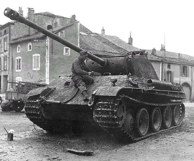 Ausf G Captured In The Battle Of Dompaire In Sept 1944 Army