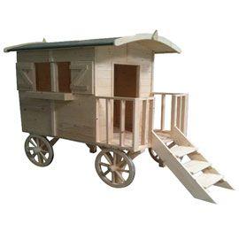 roulotte pour le jardin kids pinterest enfant caravane et gitan. Black Bedroom Furniture Sets. Home Design Ideas