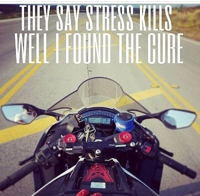 My Bike Stress Free Used To Be We Miss Riding Due To A Texting