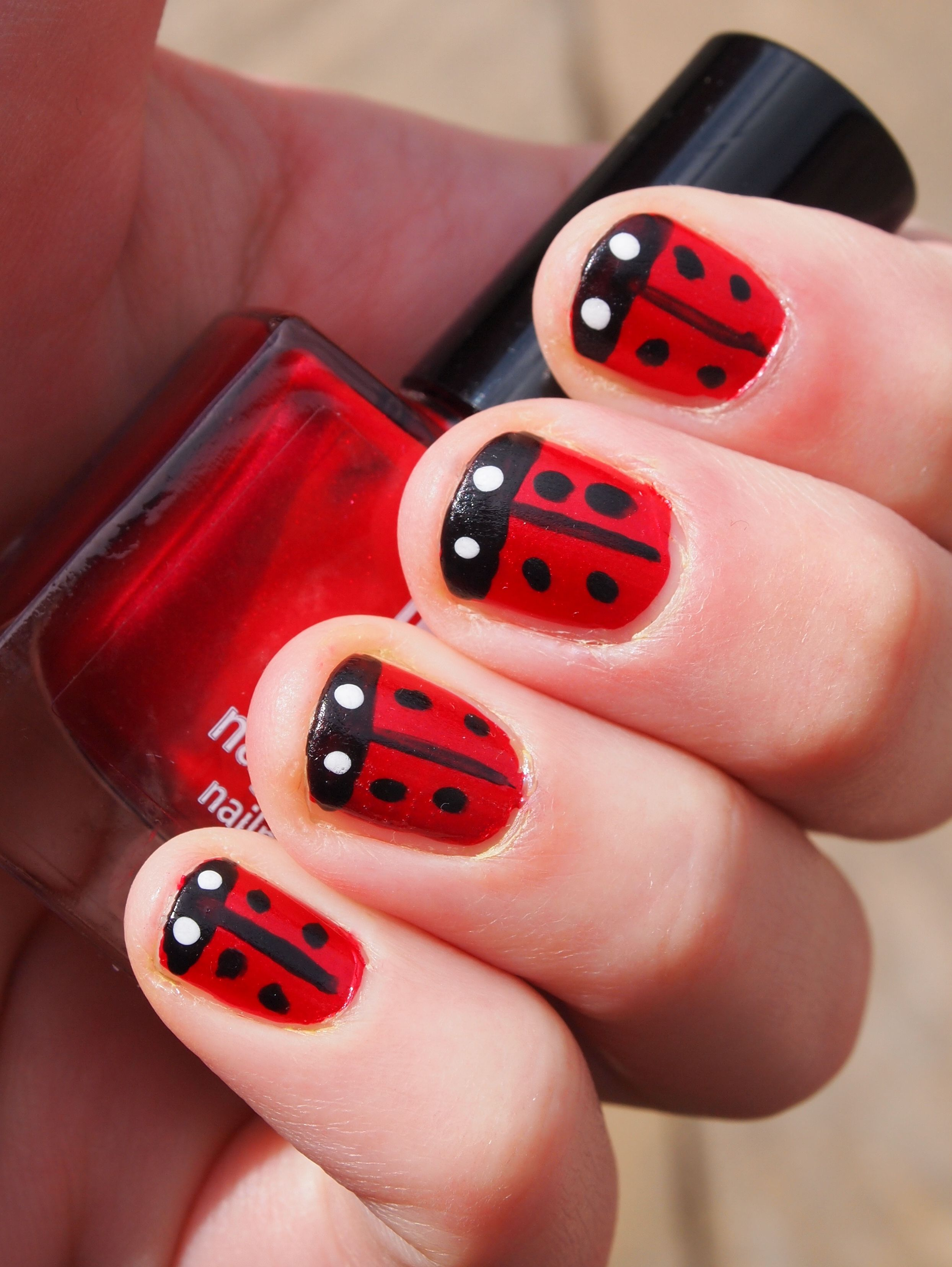 Black and red nail artbewitchery ladybird nail art wctfklo nails black and red nail artbewitchery ladybird nail art wctfklo prinsesfo Gallery