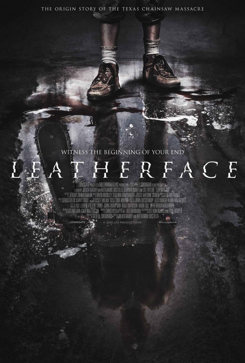 Leatherface 2017 Peliculas De Terror Poster De Peliculas Afiche De Cine