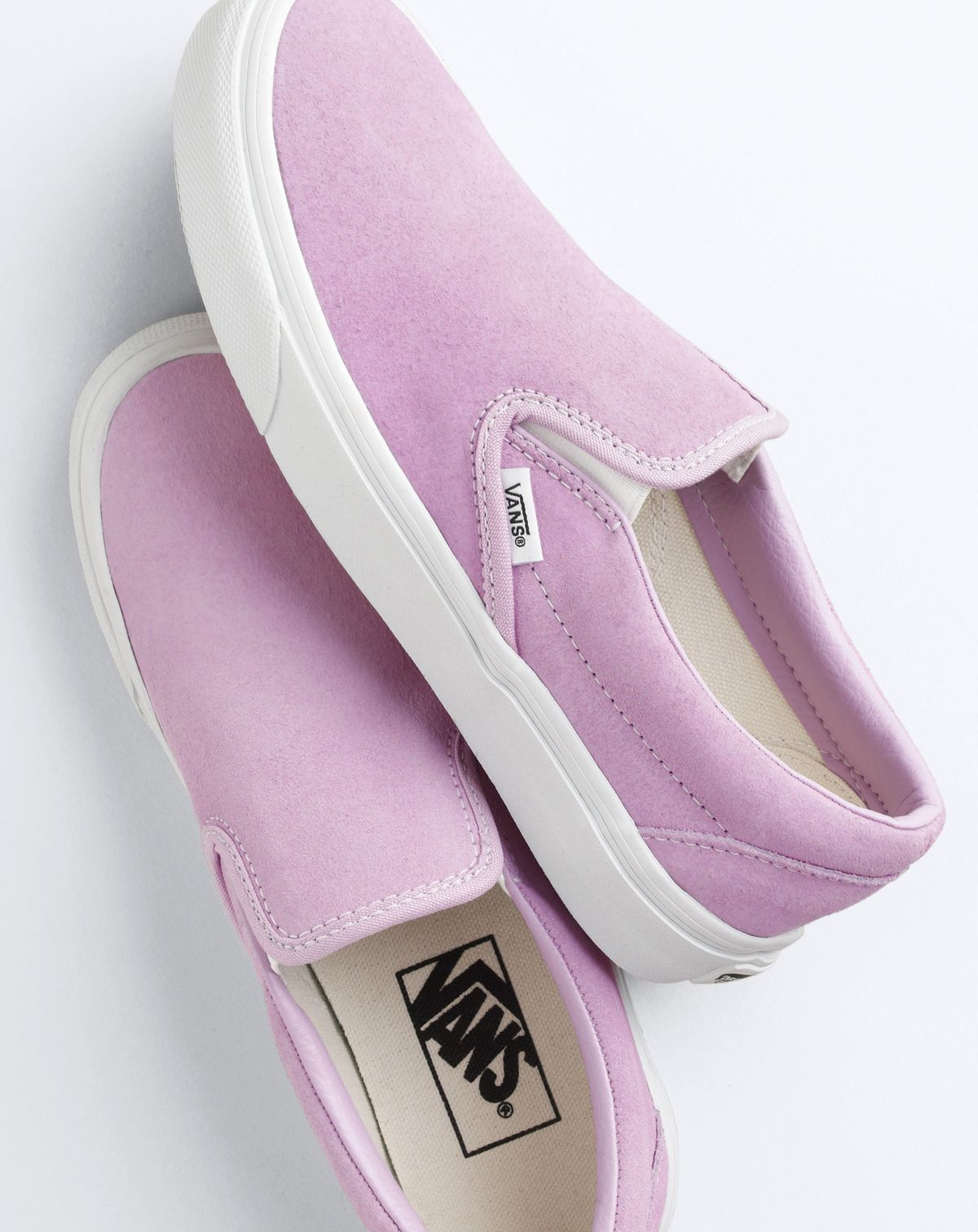 c904312fd3c76e Vans® for J.Crew classic slip-on sneakers in suede