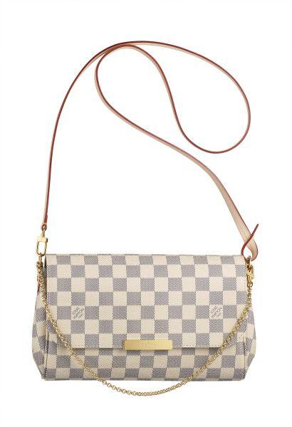 Louis Vuitton Damier Azur Favorite Bag Happy one year of working to me!! fd4da51b3