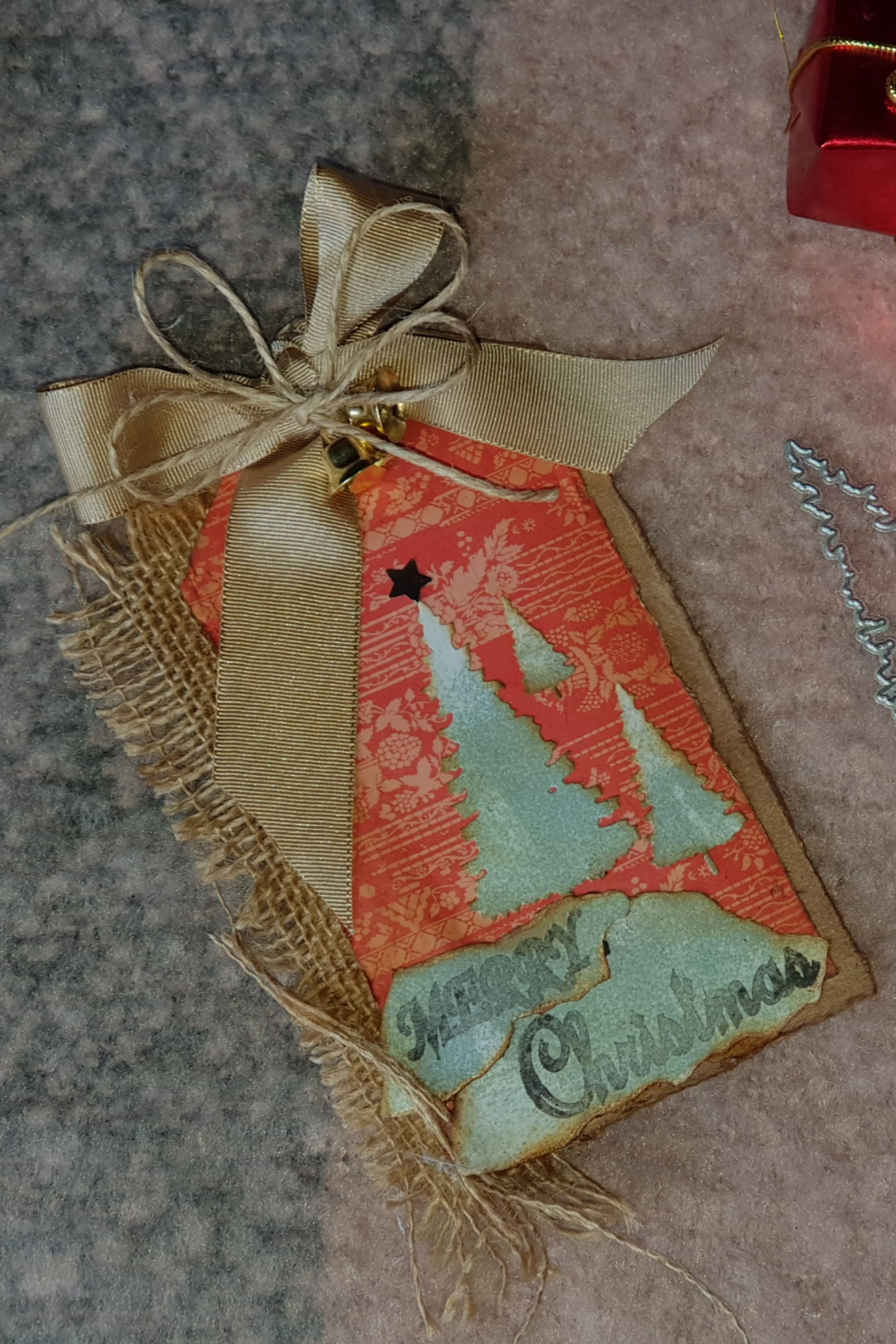 Merry Christmas Vintage Tags This tag is very creative and beautiful Showing your love for the person you care about Do it yourselflabeltagchristmas