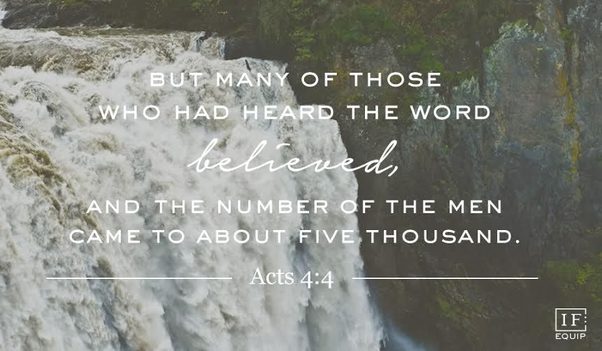 Acts 4:1-4 | IF:Equip