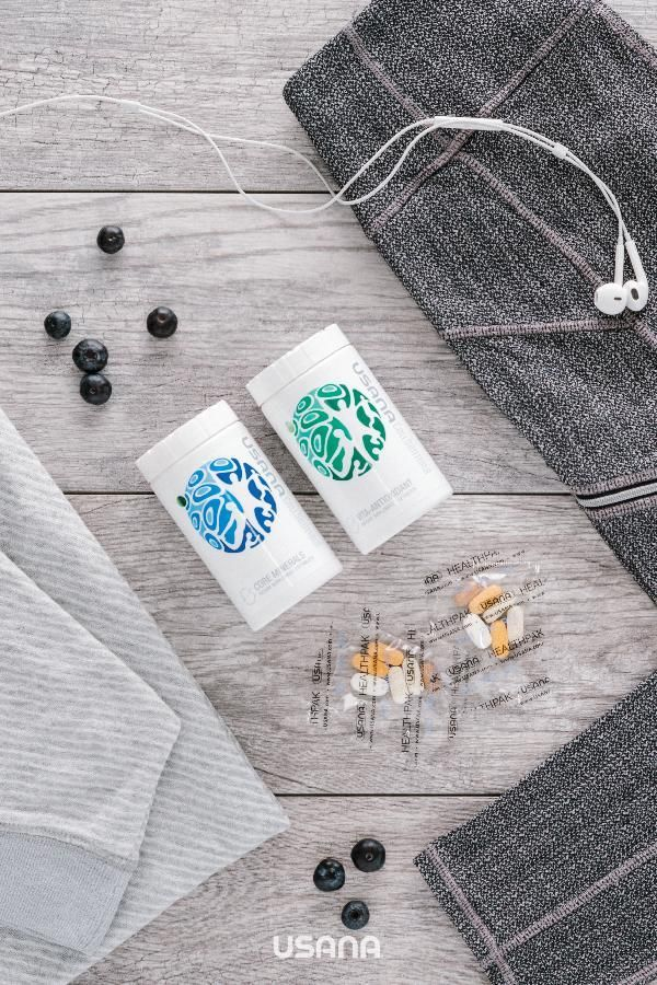 USANA CellSentials pack contains a 28-day supply of both Core Minerals and Vita Antioxidant—essential supplements formulated to nourish, protect, and renew optimal cellular health.