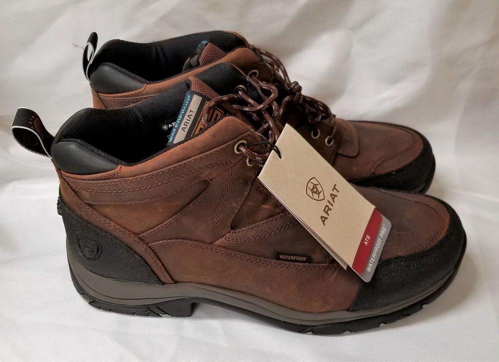 525e0315d60 New Box Ariat Men's Terrain H2O Copper Waterproof Work Boot 10002183 ...