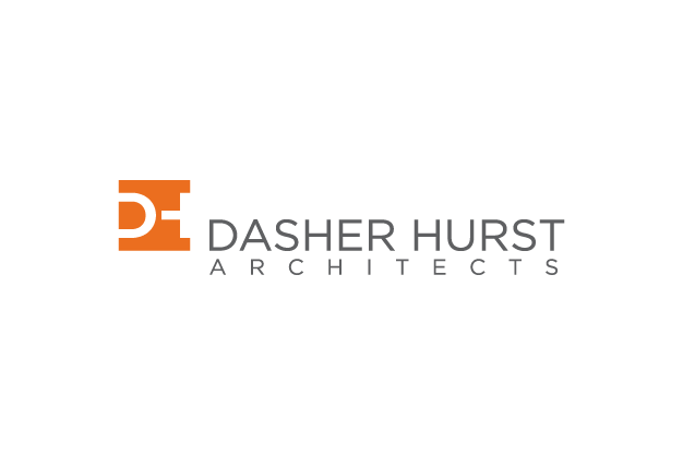 dasher hurst architects logo architecture firm logos