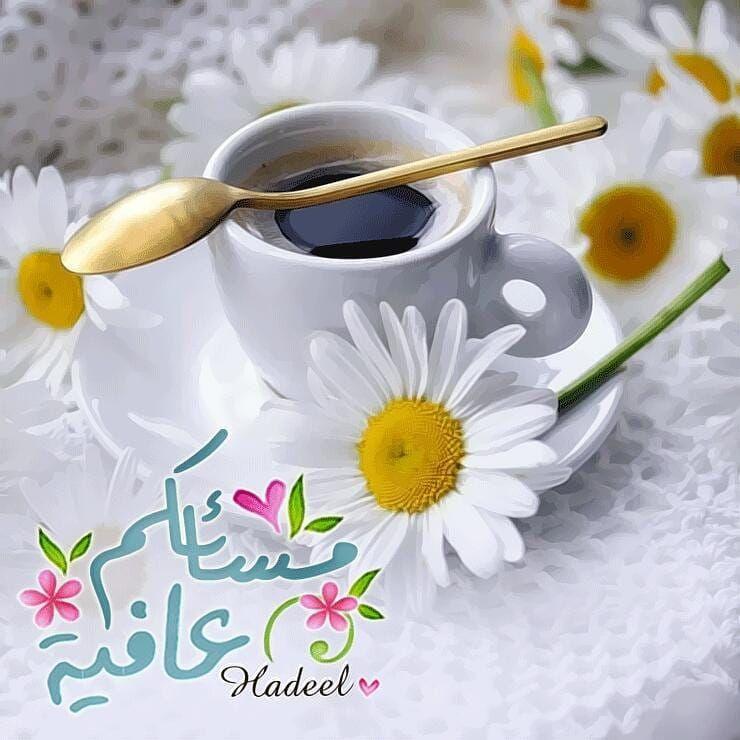 Hadeel Alnja7 Shared A Photo On Instagram مسائكم عافية مساء الخير مسائكم عافية تص Good Evening Greetings Evening Greetings Good Evening