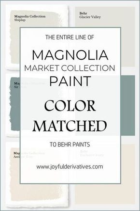 How to Get Fixer Upper Paint Colors from Home Depot - Joyful Derivatives