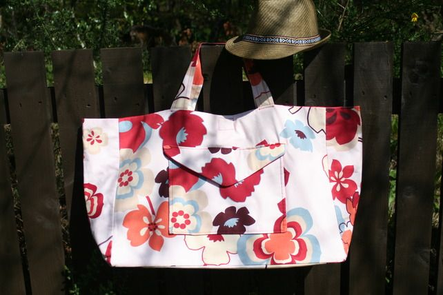 Canvas Holiday Bags - Folksy