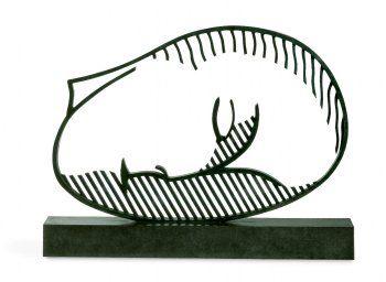 Roy Lichtenstein tribute to Brancusi