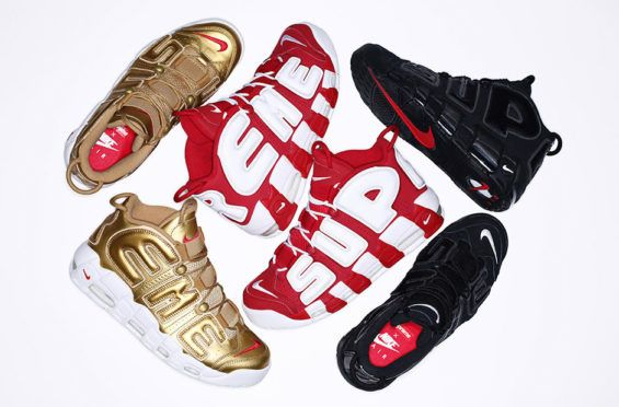 Supreme x Nike Air More Uptempo Collection | Nike air