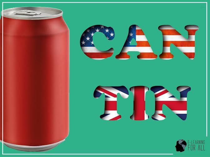 Diferenças entre Inglês Americano e Inglês Britânico