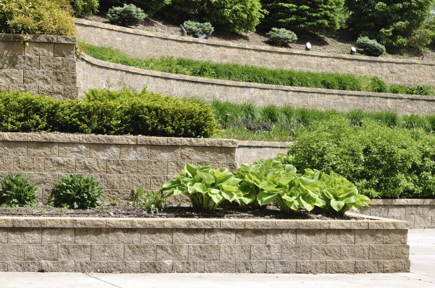 27 Backyard Retaining Wall Ideas And Terraced Gardens Awesome Design