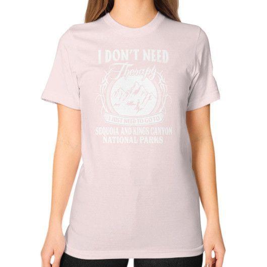 National park Unisex T-Shirt (on woman)