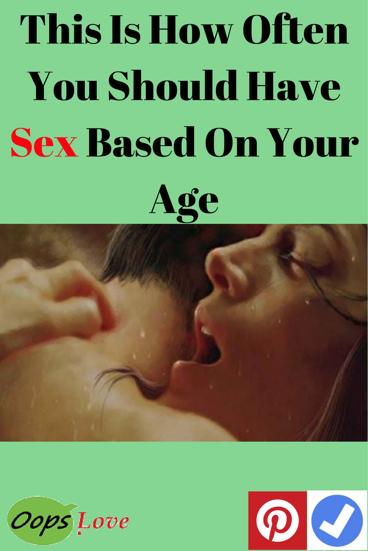 How Often You Should Have Sex According To Your Age -3246