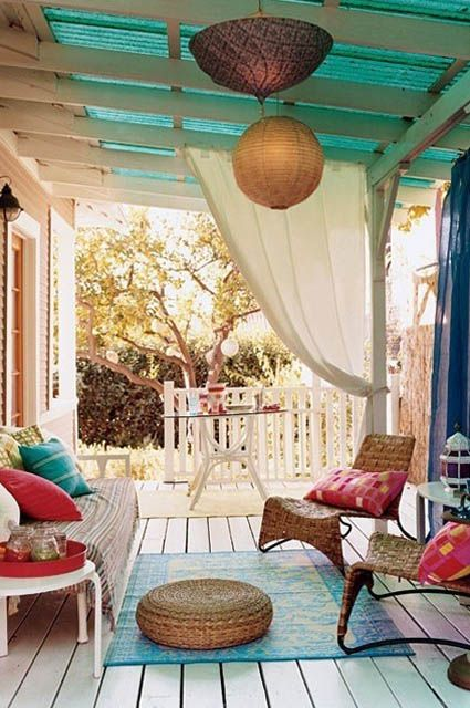 beautiful cozy patio