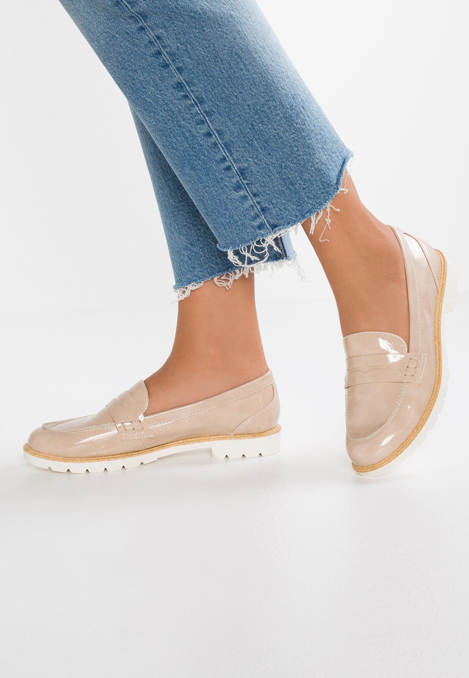 Tamaris Polbuty Wsuwane Cream Zalando Pl Espadrilles Slip On Sneaker Tamaris