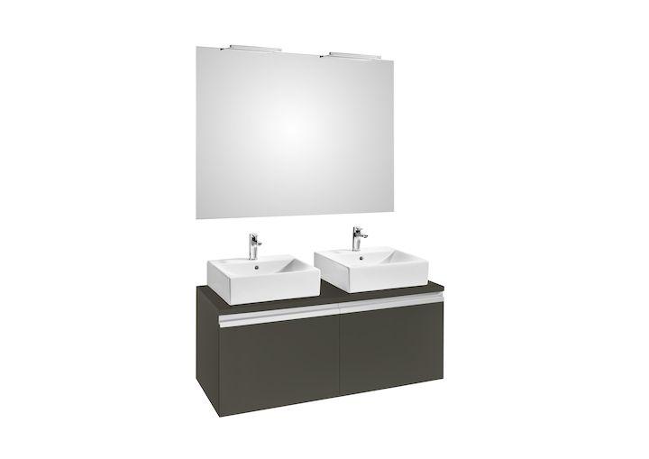 Pack Meuble Miroir Deimos 1200 2 Appliques Smartlignt 280 Meubles Pour Lavabo Meubles De Salle De Bains Produi Meuble Lavabo Meuble Miroir Et Meuble Salle De Bain