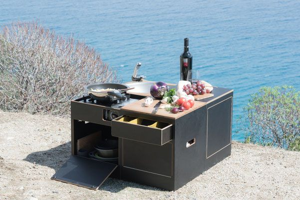 Photo of Plenty of storage space for stackable camping dishes, cutlery and supplies