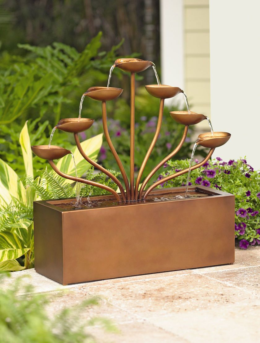 Cascading Leaves Garden Fountain Buy From Gardener S