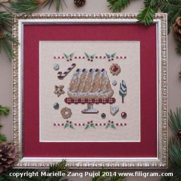 Kouglof is the title of this cross stitch pattern from Filigram. Please click on…