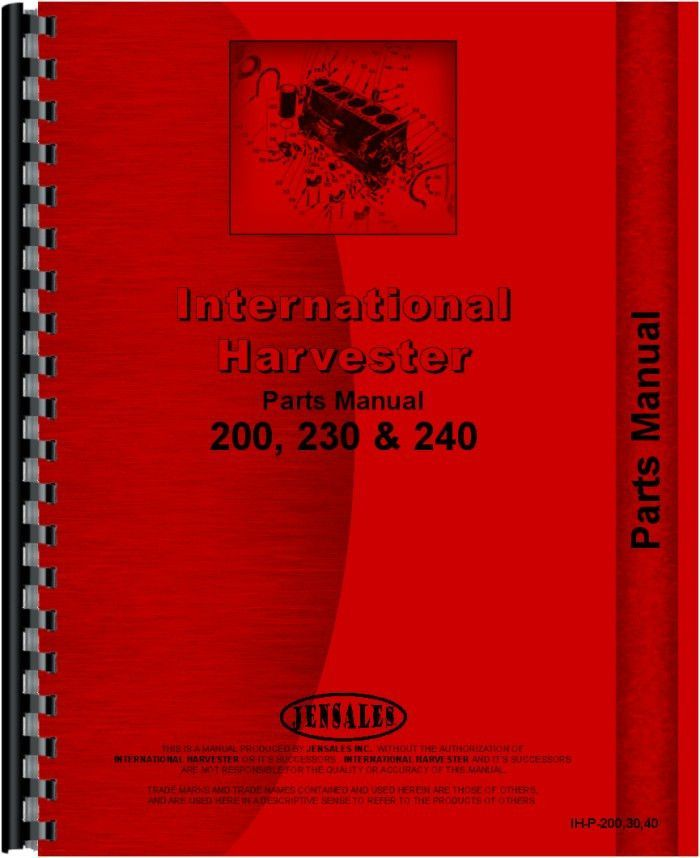 Heavy Equipment Parts & Accessories Farmall International