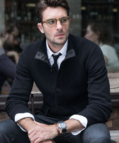 McKinnick Sweater Jacket in Black