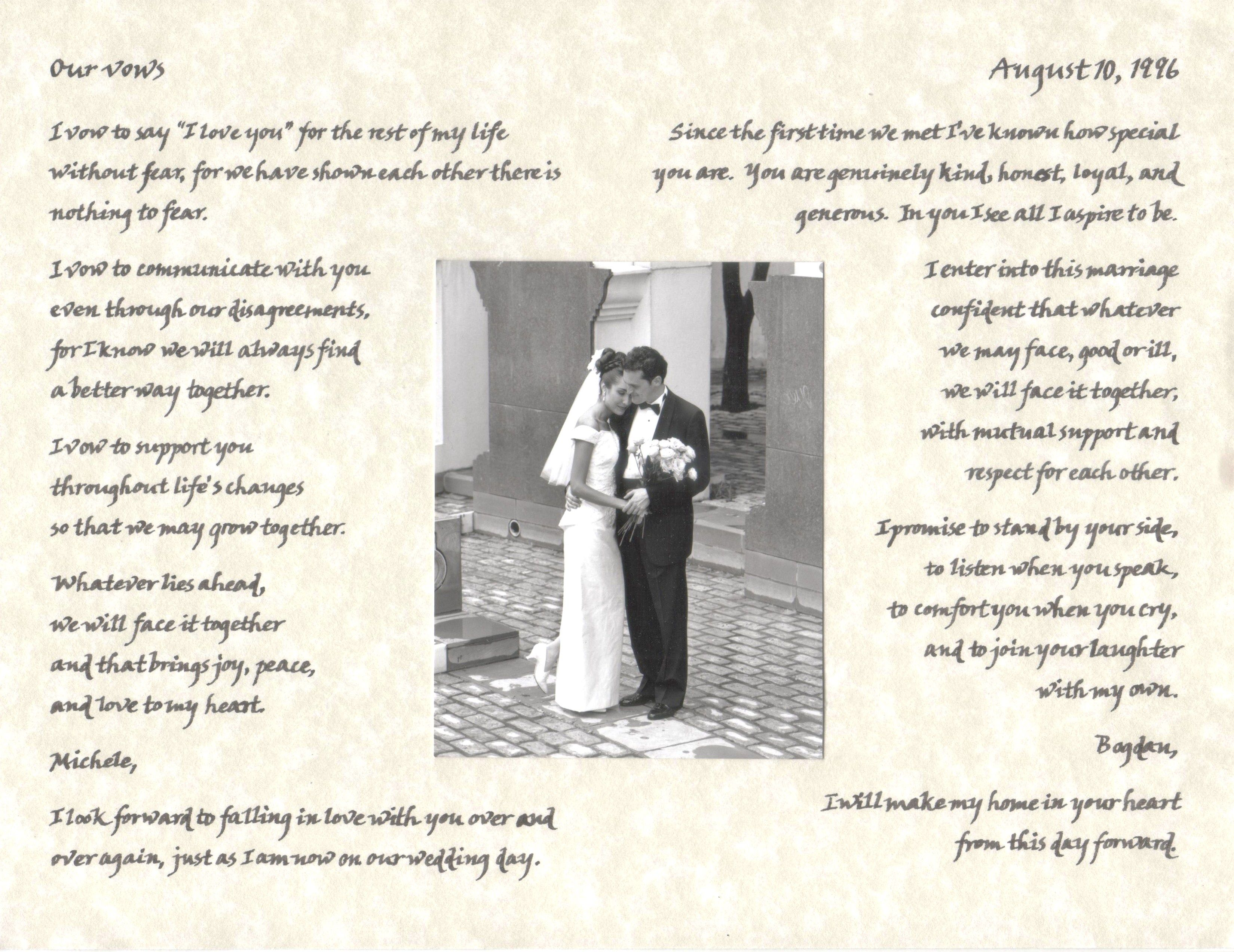 E. Wedding Readings Corinthians 13:4-13 Love Is Patient