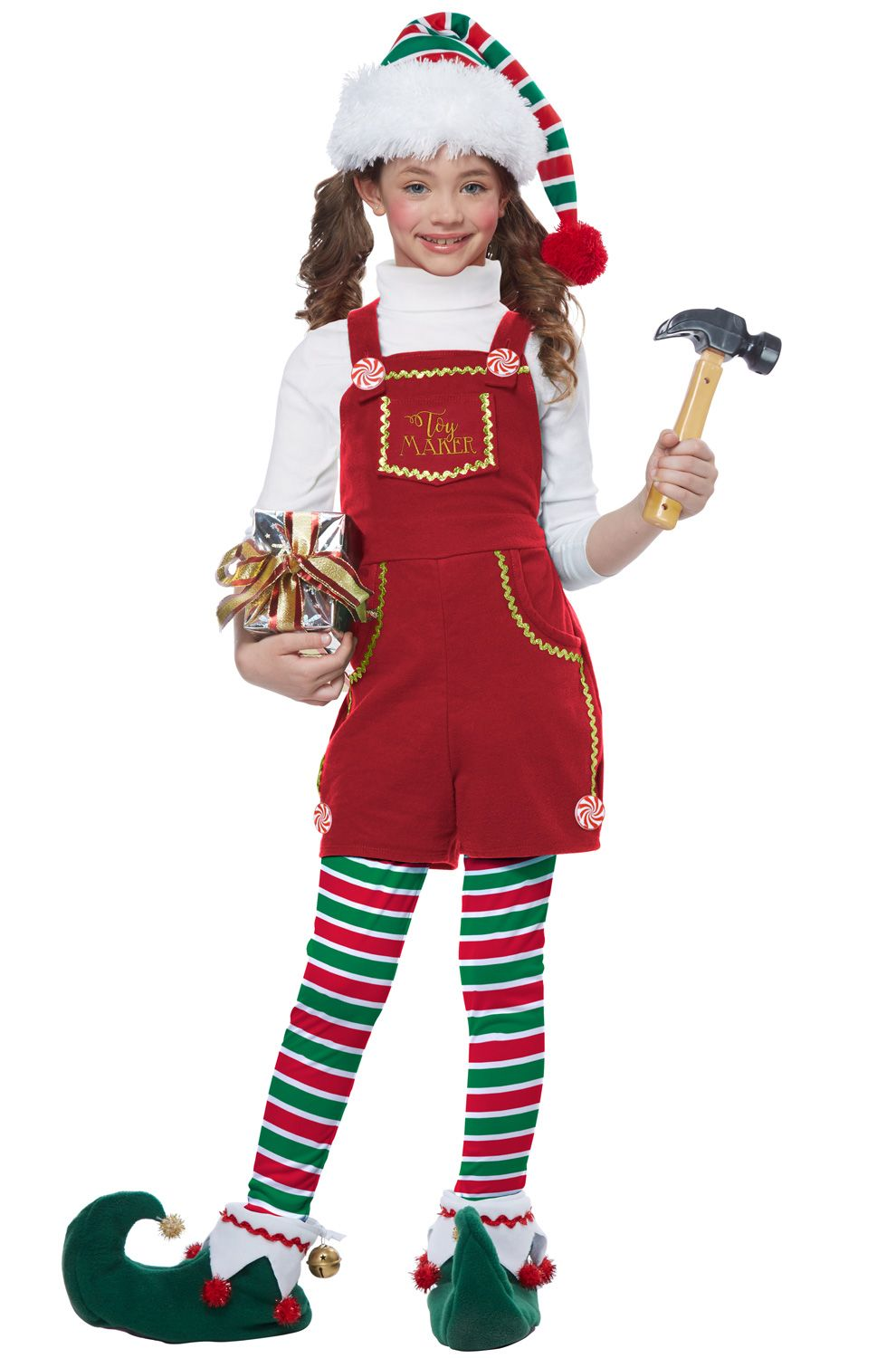 Toymaker Elf Girl Child Costume Diy elf costume