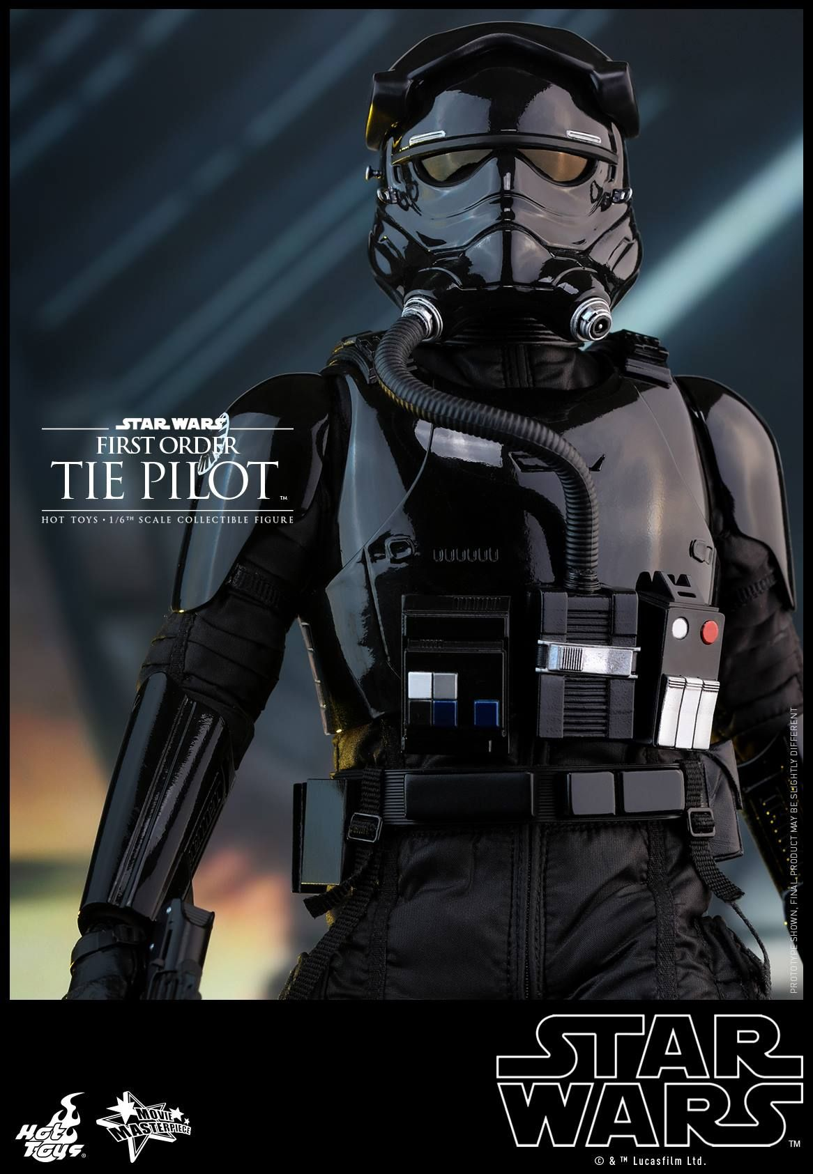 First Order Tie Pilot Hot Toy From Star Wars The Force Awakens Star Wars Trooper Star Wars Star Wars Art