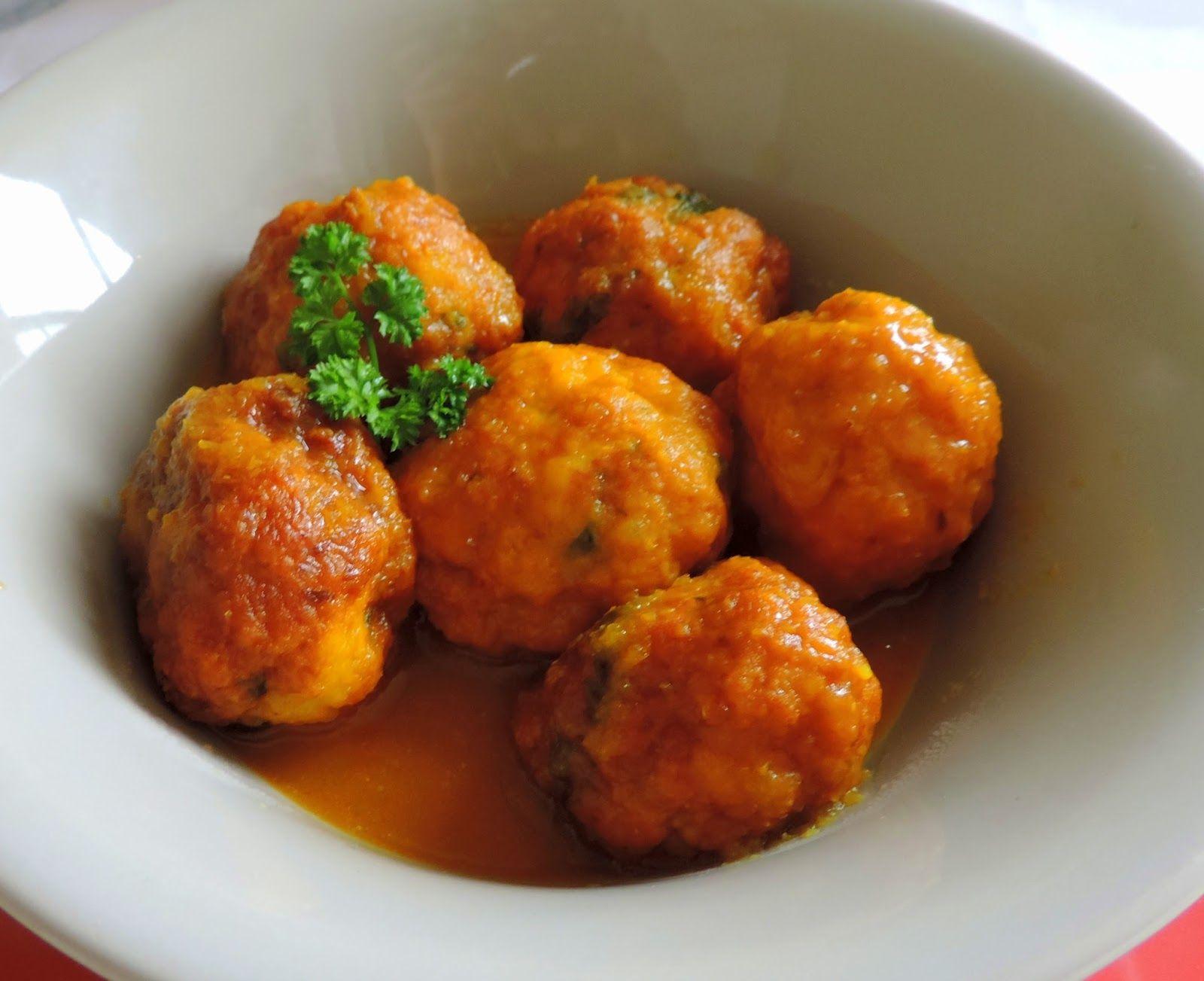 Cocinando con las Chachas: Albóndigas de Choco o Sepia