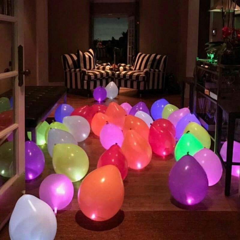 Planning a family night this holiday season? Decorate the house with these LED Balloons. They are easy to set up like any other normal balloons and once lit, they stay on for at least 6 hours! You can get them here: https://goo.gl/UyPLCe