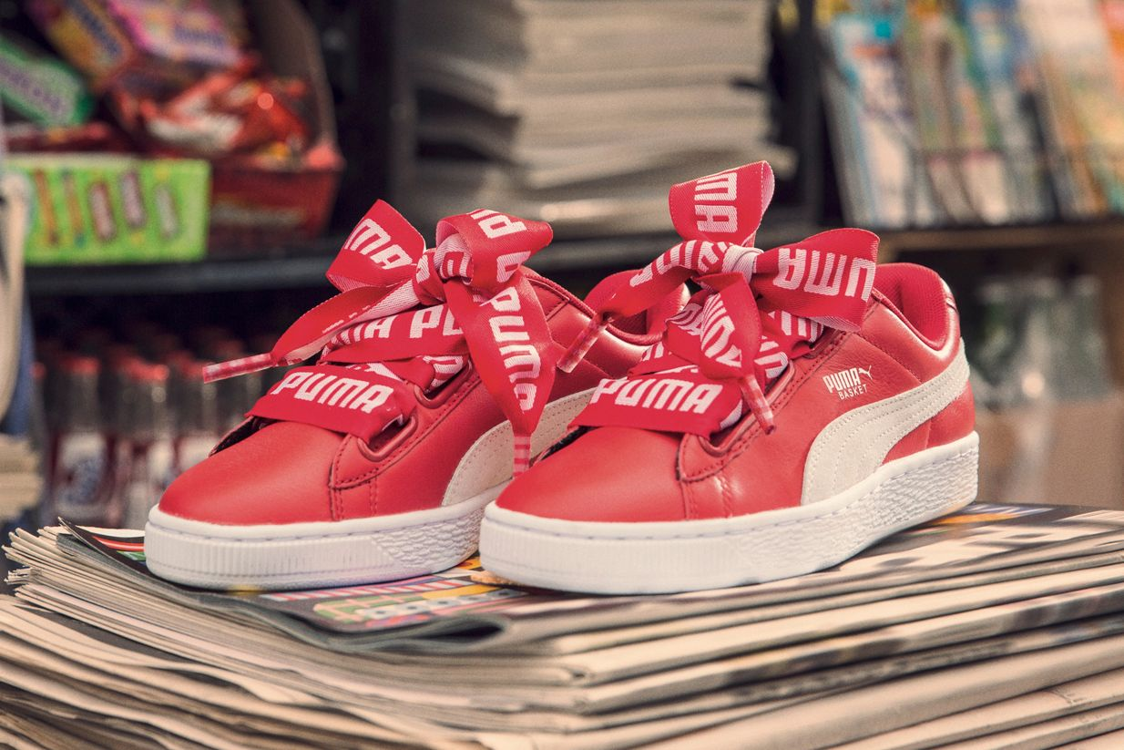 d1dd43bb44b The New PUMA Basket Heart DE