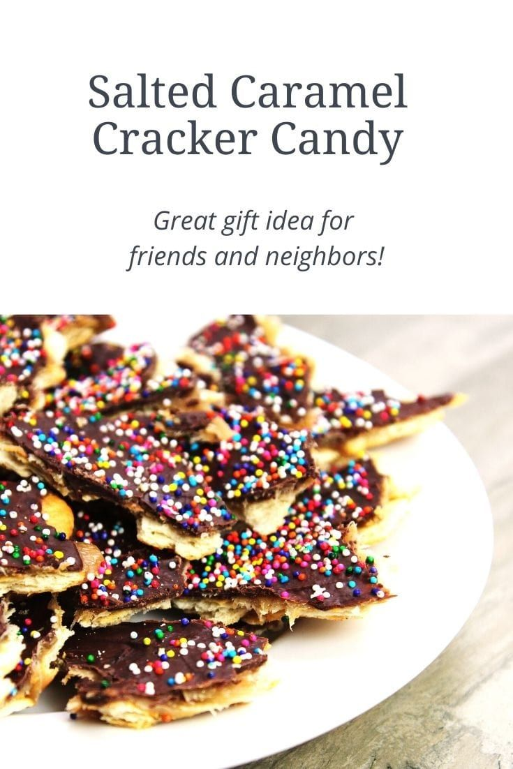Photo of Salted Caramel Cracker Candy