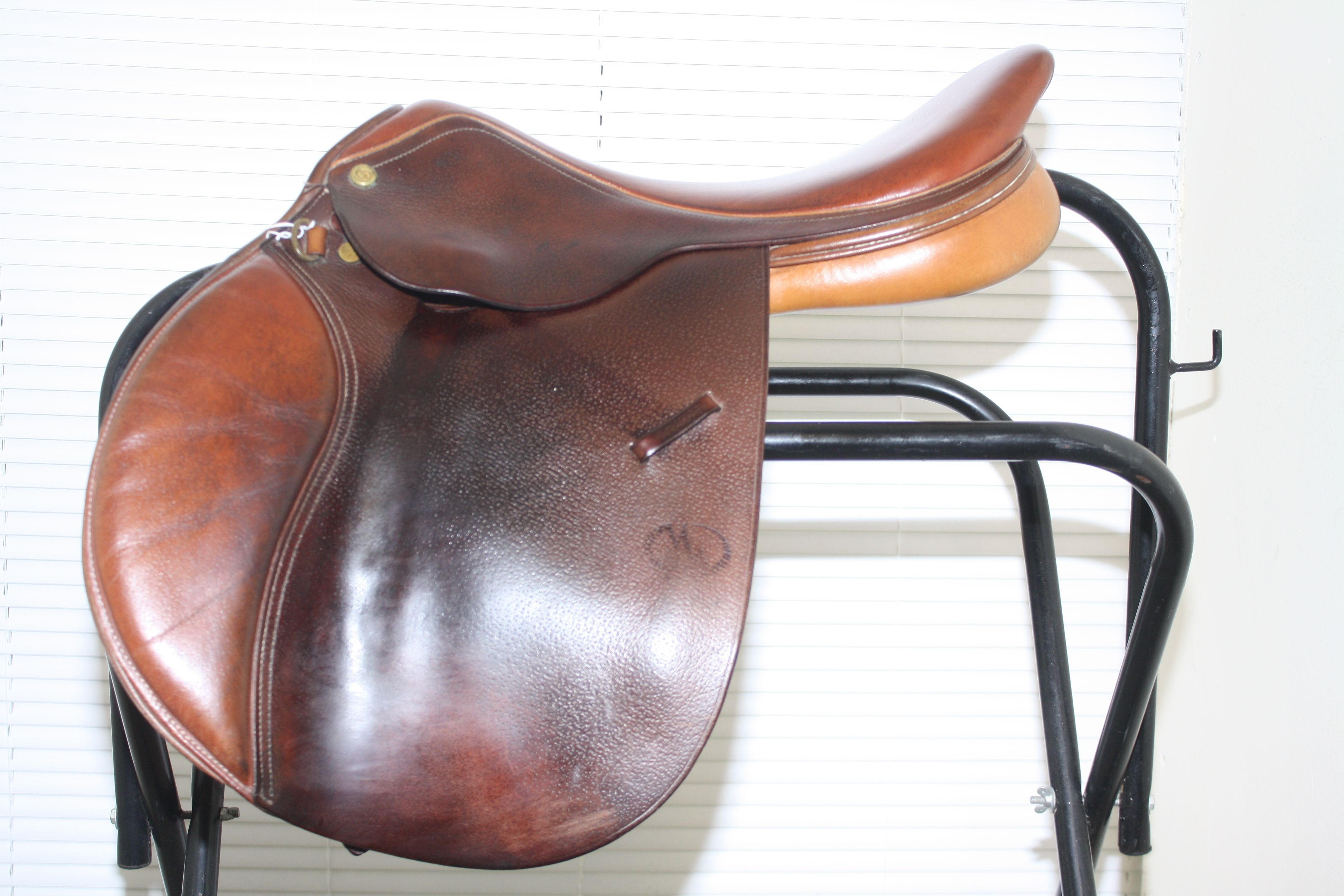 """Second Hand Michael Whitaker saddle Size 17"""", £550.00"""