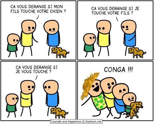 Cyanide and happiness   Bandes dessinées drôles, Image humour et Humour noir