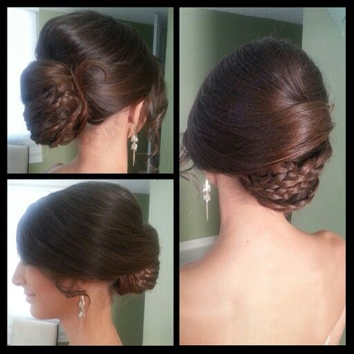 Hair updo for prom!!!