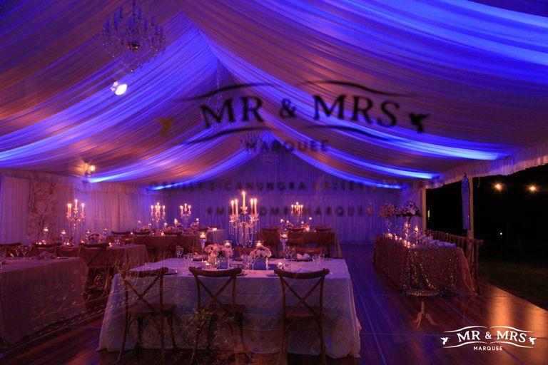 Marquee Wedding Reception Gold Coast Oreillys Vineyard Wedding